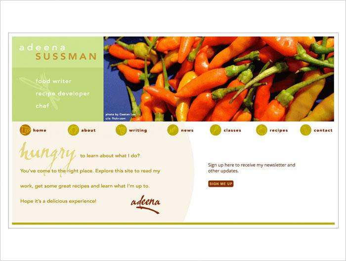 Adeena website