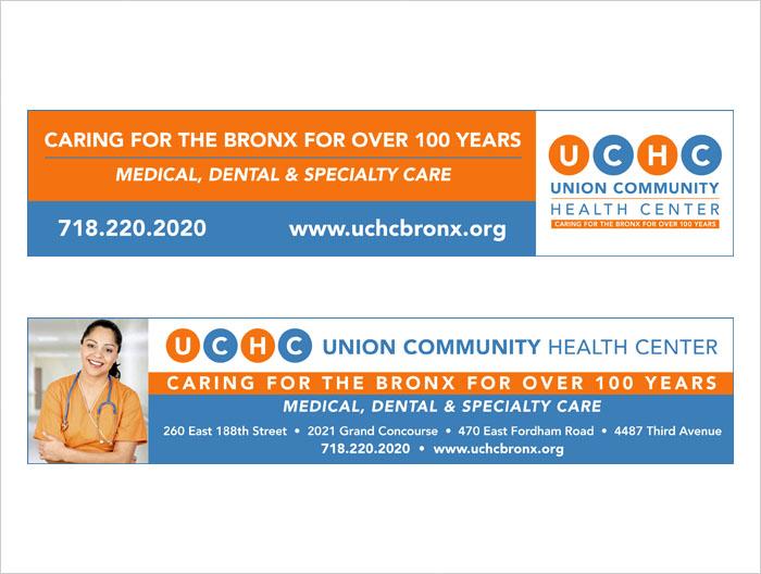 UCHC ads