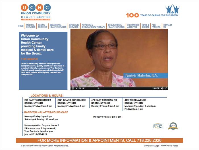 UCHC web