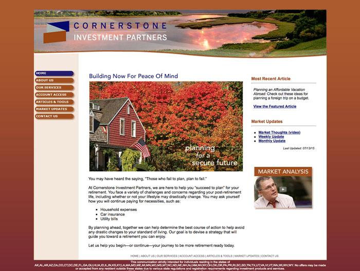 Cornerstone web A