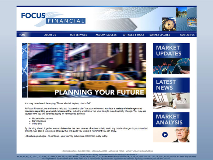 Focus Financial web A