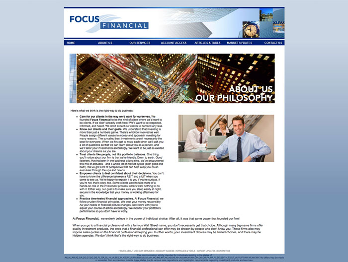 Focus Financial web B