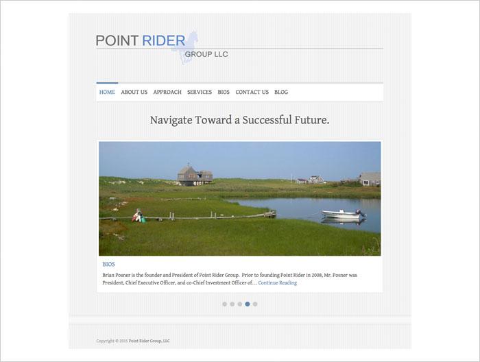 Point Rider web