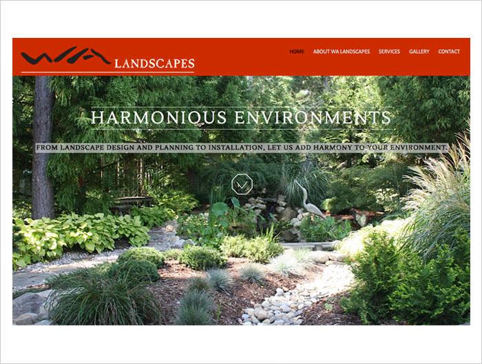 Wa Landscapes Padraic Branding Design