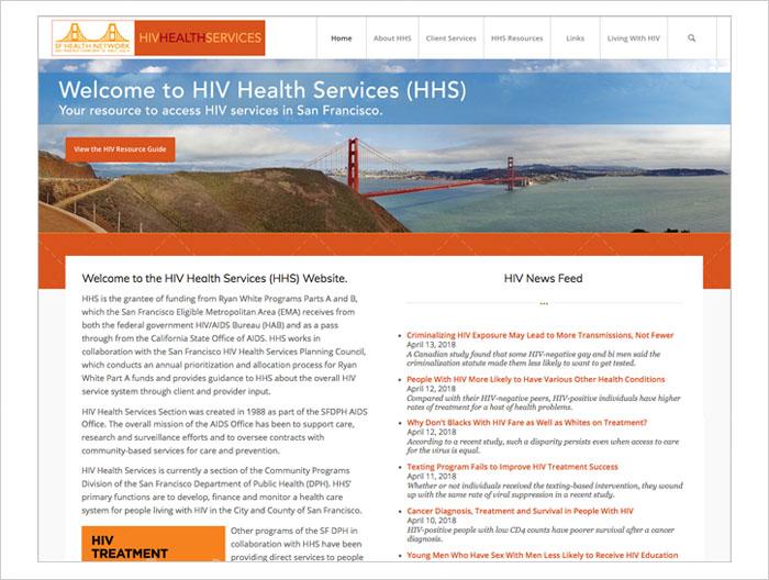 SFHIV WEB