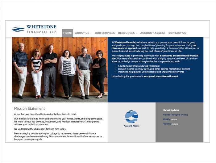 Whetstone web arg