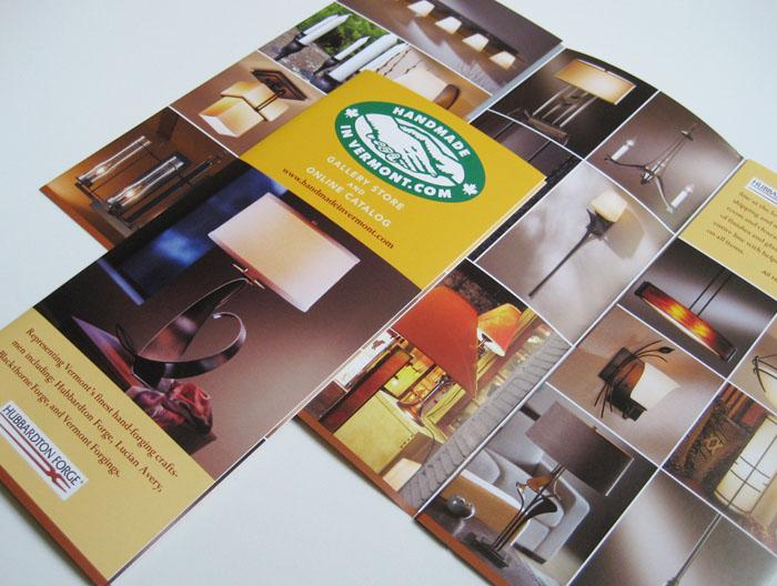 HandmadeInVermont.com brochure