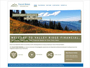 Valley Ridge web sm A
