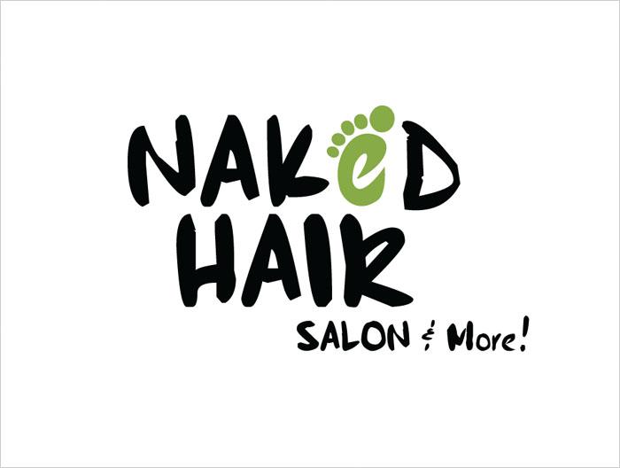 Naked Hair logo