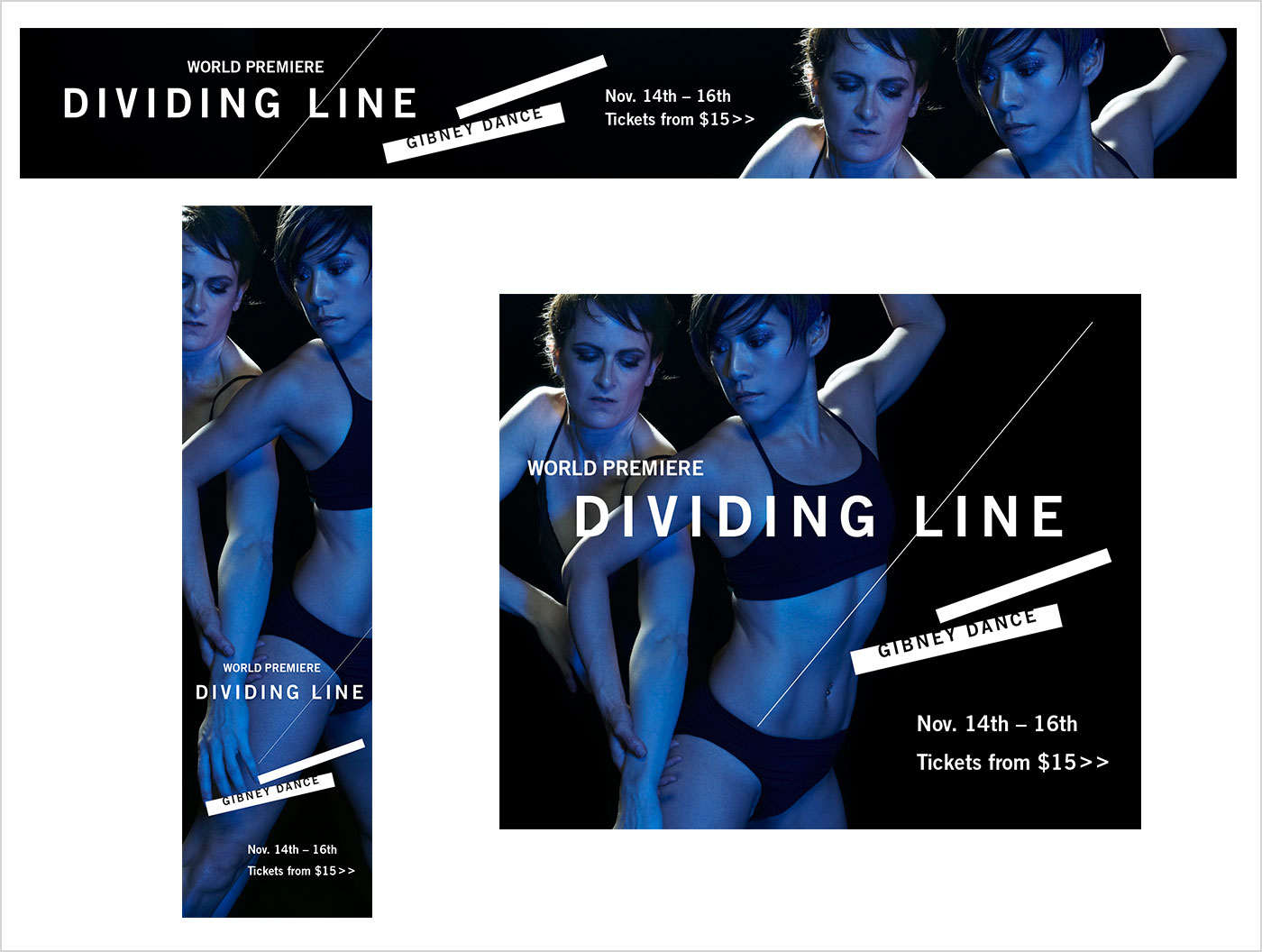 GIbney Dance - padraic | BRANDING + DESIGN